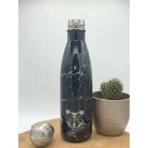gourde noir marbre 500ml